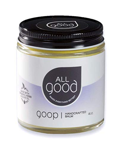 All Good Goop Organic Calendula Ointment - Chafing Cream, Blister Prevention, Dry Skin Salve, Chapped Lips (4 oz)