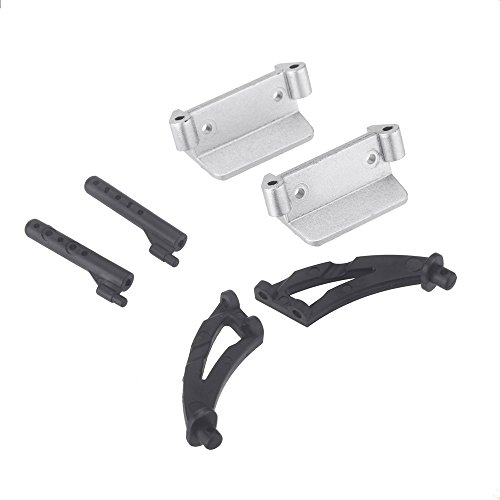 Facibom A959-04 Tail Wing Holder Set for 1/18 Wltoys A959 RC Car Parts Accessories