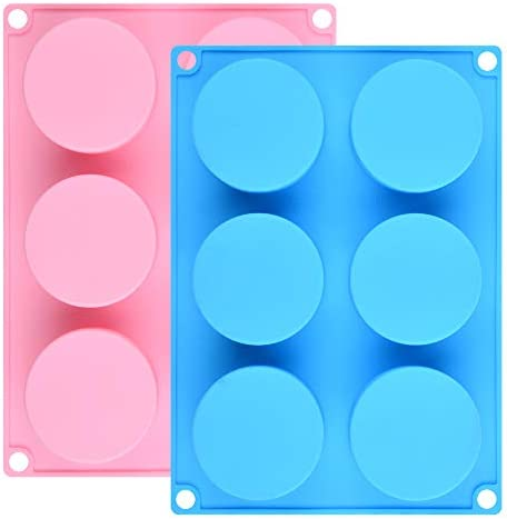 Silicone Cookie Molds Round Cylinder Chocolate Cover Mold 2 Multi product image