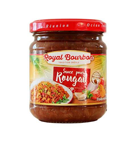 Salsa rougail gastronomía Reunión Royal bourbon 136g.