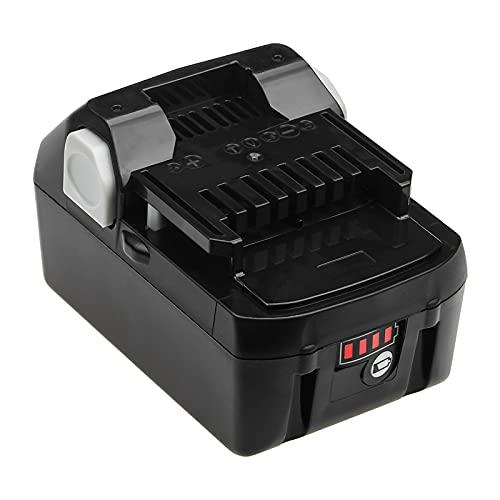 18 V 4Ah 6ah Li-Ion BSL1830B. Batteria Ricaricabile Sostitutiva per HITACHI BSL1820 BSL1840 BSL1850 BSL1860B Batterie Utensili elettrici, Batteria, YLLLLY-6686 (Color : 6Ah, Nominal Voltage : 18V)