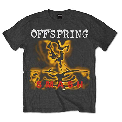 The Offspring Smash Dexter Holland Punk Rock offiziell Männer T-Shirt Herren (X-Large)