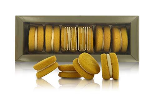 Cracco Baci Frutto della Passione, Rivisitazione dei Biscotti Baci di Dama, 6 Biscotti al Passion Fruit, Peso Netto Tot.: 170 Grammi
