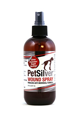 PetSilver 50 ppm Wound Spray with New Chelated Silver