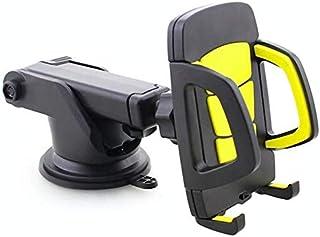 حامل الهواتف الذكية للسيارة، حامل هاتف محمول على شكل ذراع طويل شامل مع قاعدة تثبيت بالشفط لهواتف ايفون الذكية 3.5-6.5 انش