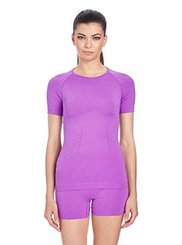 Odlo Evolution Light LO T-Shirt à col Rond pour Femme Violet Taille L