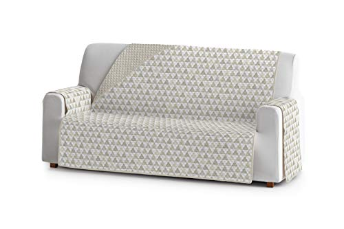Eysa Nordic Funda, Poliéster, C/1 Beige-Beige, 3 plazas 160cm. Válido para sofá Desde 170 a 210cm