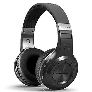 Bluedio HT Turbine Wireless Bluetooth 5.0 Stereo Headphones with Mic  Black
