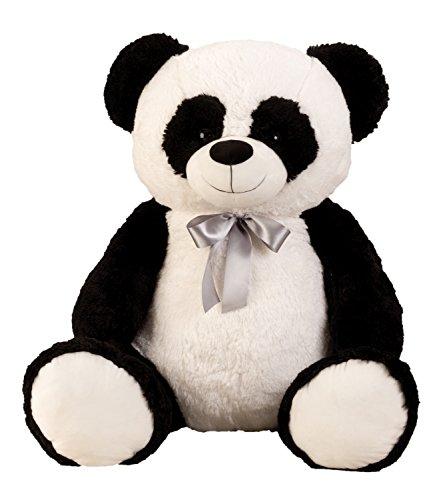 Lifestyle & More Ours en Peluche géant Ours en Peluche Panda XXL 100 cm de Haut velouté Doux - à Aimer
