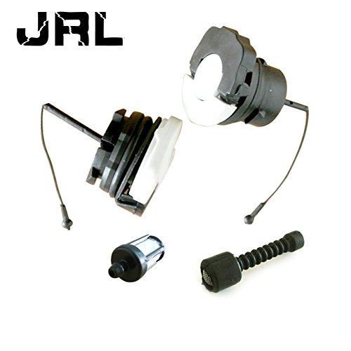 Filtre à carburant, ölleitungsfilter, ölkappe, gaz capuchon Convient pour Stihl ms380 ms381 Tronçonneuses