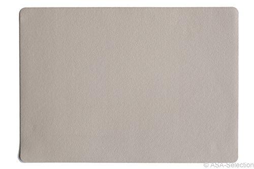 ASA Selection Tischset 33x46cm in Lederoptik Stone (4 Stück)