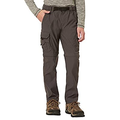 UNIONBAY Boy's Youth Convertible Lightweight Comfort Stretch Cargo Pants/Shorts