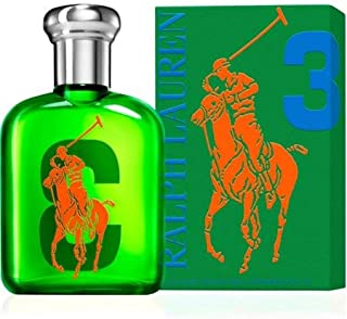 Ralph Lauren The Big Pony Collection #3 Eau De Toilette for Men 2.5 OZ. 75 ML.