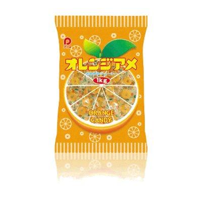 パイン オレンジアメ 1kg(梱包装紙込み) 10袋入り