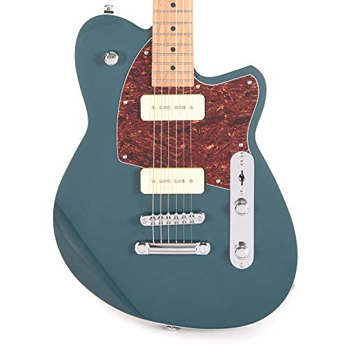 Reverend Charger 290 Deep Sea Blue, Roasted Maple