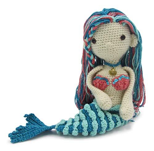 Meerjungfrau häkeln Puppe Meerjungfrau Puppe Amigurumi   Etsy   491x500