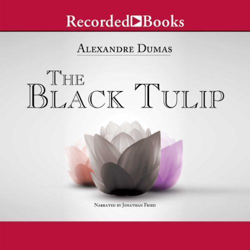 The Black Tulip audiobook cover art