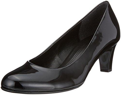 Gabor Shoes Gabor Basic, Zapatos de Tacón Mujer, Negro (Schwarz), 38 EU