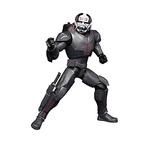 Star Wars The Black Series, Action Figure Deluxe di Wrecker in Scala da 15 cm da Collezione, Ispirata alla Serie Animata The Bad Batch, Giocattoli per Bambini dai 4 Anni in su