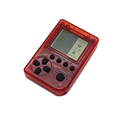 Rlorie Console Portatile da Gioco Mini Classic Retro Nostalgic Game Player Giochi 26 Portatili Portachiavi Portatile con Ciondolo per Bambini Favorable