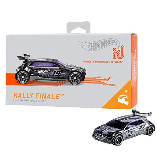 Mattel - Hot Wheels ID Vehículo de juguete,  coche Tackable Rally, +8 años  ( FXB23)