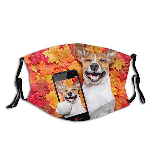 KINGAM Jack Russell - Bandana para perro, para adultos, cuello facial, máscara, polvo, transpirable, resistente al viento, pesca, senderismo, correr, ciclismo