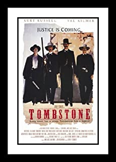 ArtDirect Tombstone 20x26 Framed and Double Matted Movie Poster - Style A - 1993
