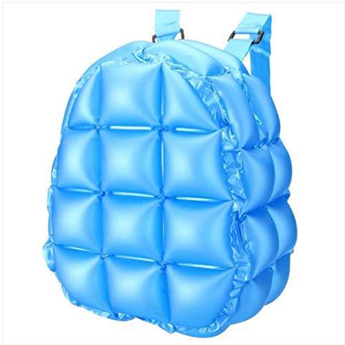 DDPP Aufblasbare Luftblase sprengen Rucksack Retro Festliche springende Gewürz-Mädchen-Raum-Taschen,Blue