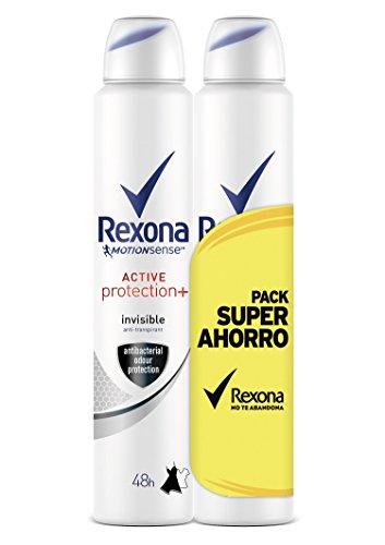 Rexona déodorant Active Pro + Invisible Femme économique – 3 Paquets de 2 x 200 ml : Total – 1200 ml