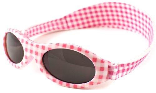 Baby Banz - Lunette de soleil 01/APG Ovale  - Fille, Pink Gingham