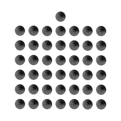 SANKEYTEW Garage Door Magnetic Decorative Hardware 50 Clavos, Strong Magnets, Color Black