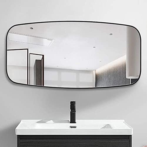 HD Bathroom Mirror 80×40CM Large Modern Mirror, Wall-mounted Bathroom Mirror, Vanity Hanging Decorative Mirror, Full Body Mirror, Rectangular Wall Mirror, Entryways, Living Rooms,Bedroom*Product