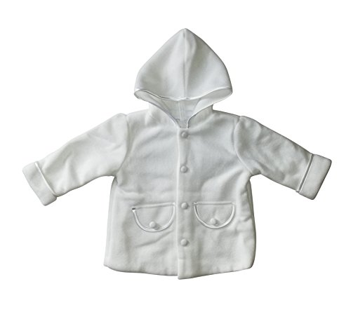Seruna Tauf-Mantel JE13 Gr. 80/86 Baby-Kleidung Mäntelchen zu Anzug u. Kleid-chen Hochzeit Geschenk-e für Babies