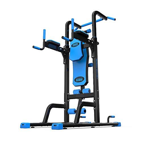 HGXC Bastidores de pesas de barra horizontal paralela barras multifunción para el hogar dominadas equipo de ejercicio