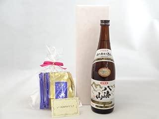 贈り物セット ギフトセット 日本酒セット 挽き立て珈琲(ドリップパック5パック)(八海醸造 八海山 本醸造 720ml(新潟県)) メッセージカード付