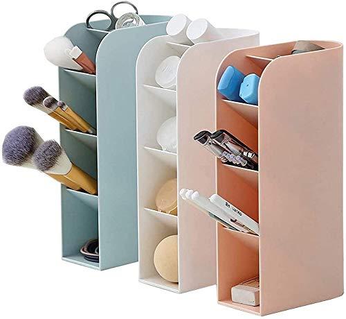 3 Pcs Desk Organizer- Pen Organizer Storage For Office Candy Color Girl Women Pen Storage Holder