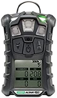 MSA Combustible Gases, Oxygen And Carbon Monoxide ALTAIR(R) 4X Gas Monitor With Rechargeable Battery And Motion Alert