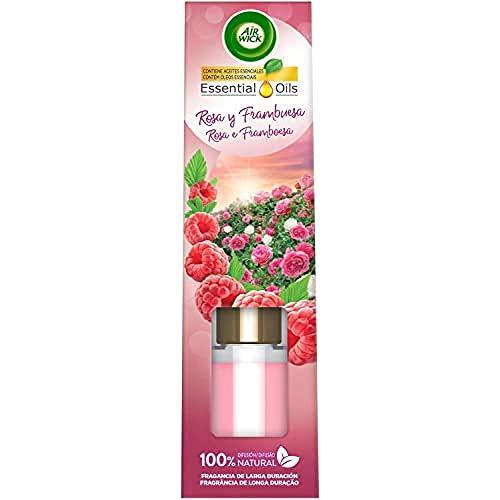 Air Wick Varitas Perfumadas - Ambientador Mikados, Esencia Para Casa con Aroma a Rosa y Frambuesa - 40 ml