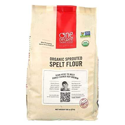 Organic Sprouted Spelt Flour, 80oz (5 lb)