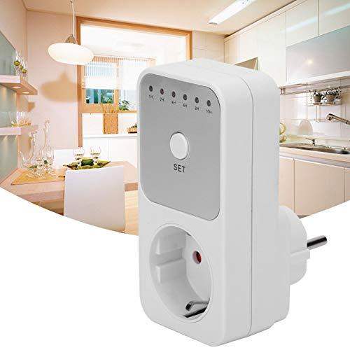 Interruptor de enchufe con temporizador, controlador de interruptor de temporizador de cuenta regresiva enchufable, para iluminación del hogar, ventiladores, aires acondicionados, humidificadores