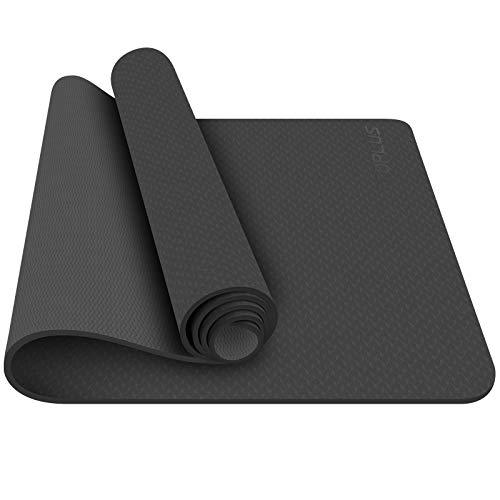 TOPLUS Yoga Mat - Professional Yoga Mat Non Slip Fitness Exercise Mat with Carry Strap