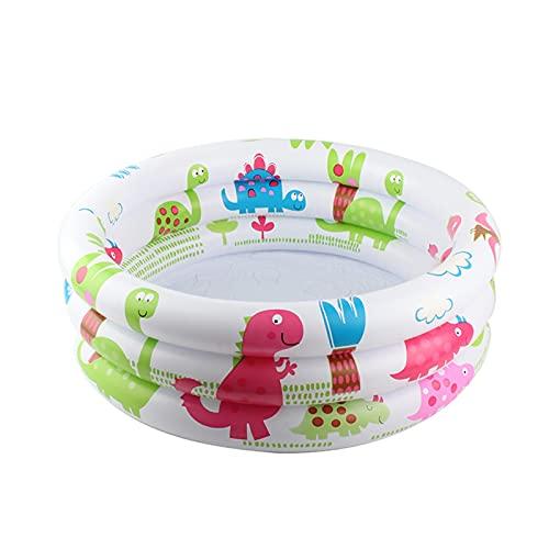 Piscina Inflable para Bebés 3 Círculos De Anillo Círculos Redondos De La Ducha De Baño para Niños Infantil