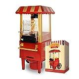 MikaMax – Popcornmaschine – Popcorn Maker – Rot – Maße Verpackung: 40 X