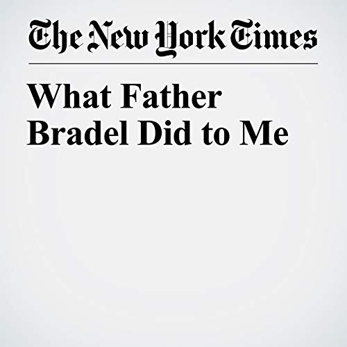 What Father Bradel Did to Me copertina