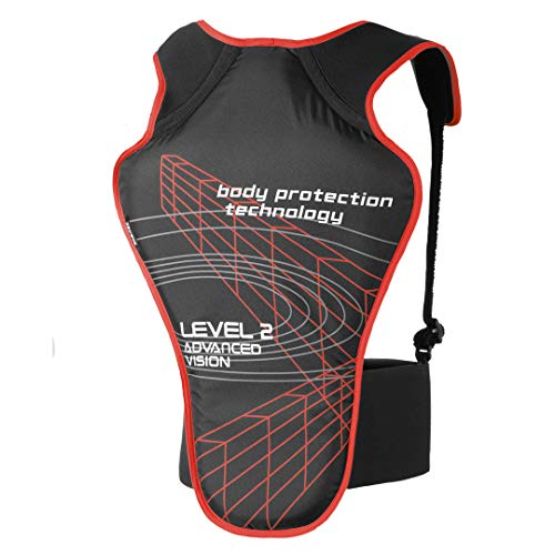 Büse Rückenprotektor Schwarz/Rot L