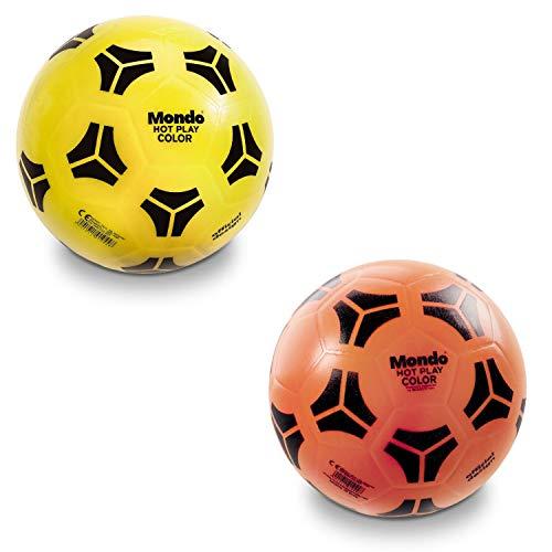 Mondo-01044 Italia Mondo Toys -Pallone da Calcio Hot Play Tango PVC Bambino-Colore Bianco-01044, Multicolore, 230, 01044