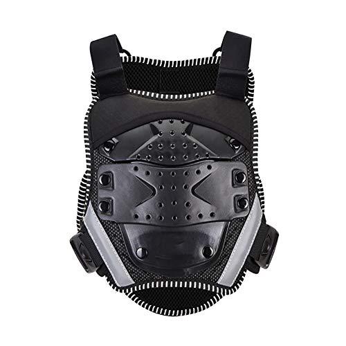 LXC Kind Motorfiets Armor Vest Back Protector Ride Ski Schaatsen Borst Vest Beschermende Kleding