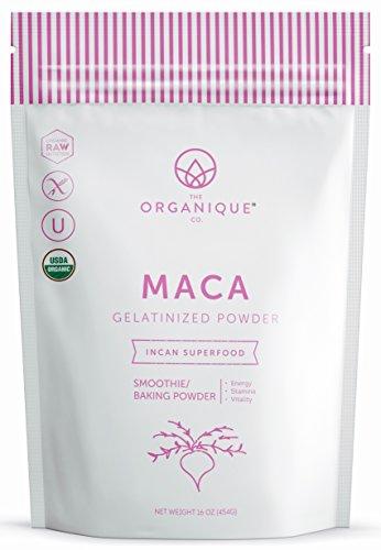 The Organique Co. Black Maca Root Powder Capsules