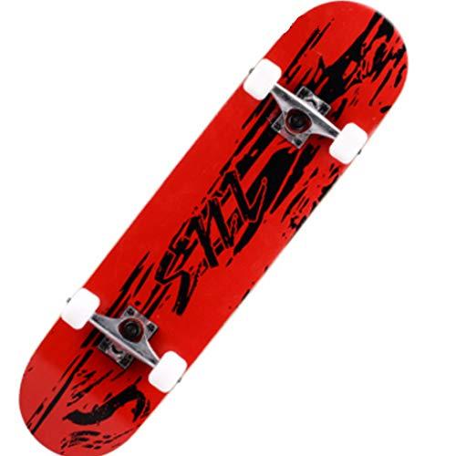 Skateboard Vier Rädern Erwachsene
