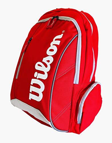 Wilson Tennis-Sporttasche Advantage II Rucksack, rot